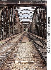 popędzać, most
