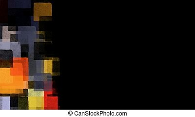 pop art colorful squares - Pop art colorful squares...