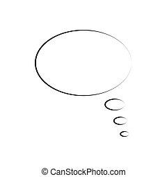 Pop art comic speech bubble.Bblank template. Vector
