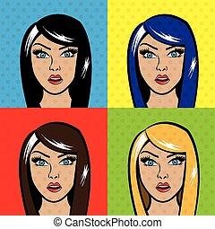 Pop art design, vector illustration.
