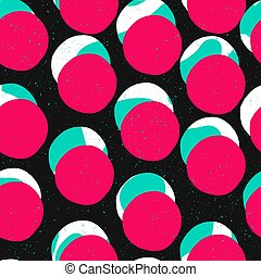 Pop-art style seamless print. Abstract Vector Seamless Background.