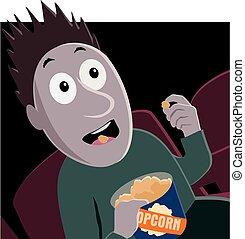 pop-corn, film horreur
