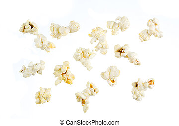 pop-corn, isolé