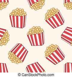 pop corn theme elements