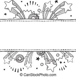 Pop explosion vector background