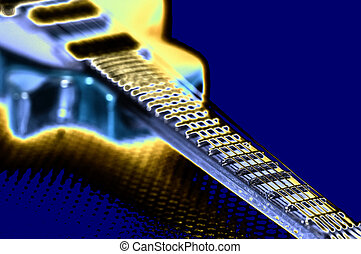 Pop Music - Pop Art Guitar