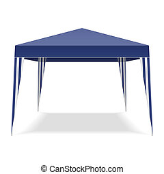 Pop Up Gazebo vector illustration