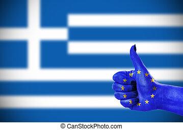 poparcie, grecja
