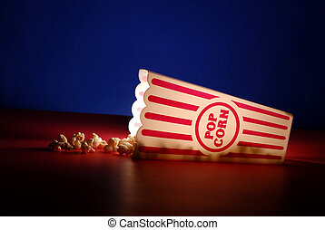 Popcorn at the Movies - Popcorn for a movie in a popcorn...