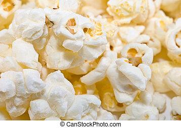 popcorn background macro