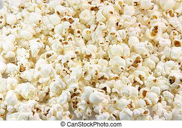 popcorn background - pop corn closeup for background use...