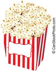 Popcorn Bag Stock Illustration