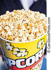 Popcorn Bucket At Cinema