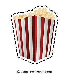 popcorn bucket icon image