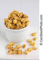 popcorn, carmel