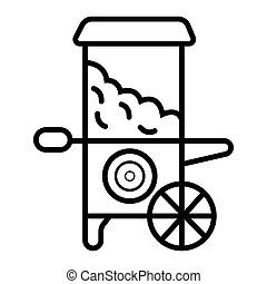 popcorn cart icon