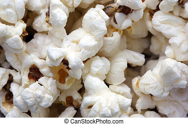popcorn closeup background