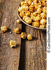 Popcorn - Delicious popcorn on the table
