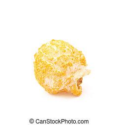 popcorn, enkel, vrijstaand, vlok