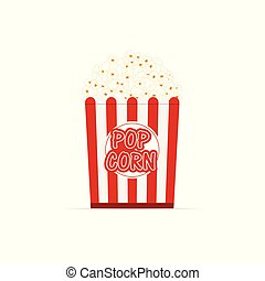 popcorn fresh cartoon illustration