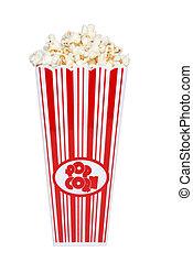 popcorn, kontener
