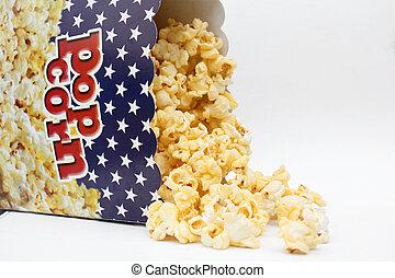popcorn, odizolowany