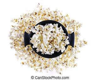 popcorn., odizolowany
