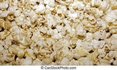 Popcorn sweet closeup.Full hd video - Popcorn sweet...