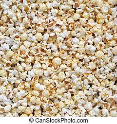 Popcorn texture