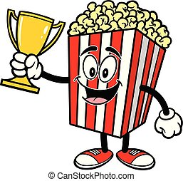 Popcorn with a Trophy