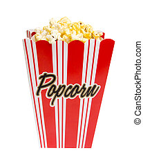 Popcorn with Clipping Path