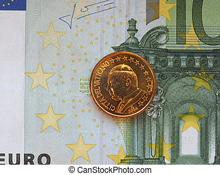 pope John Paul II 50 cents coin - 50 euro cents coin (EUR)...