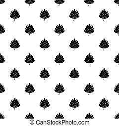 Poplar leaf pattern vector - Poplar leaf pattern seamless in...