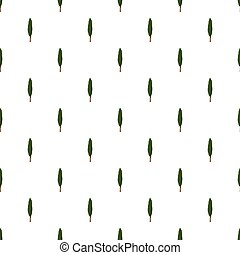 Poplar pattern seamless repeat in cartoon style vector...