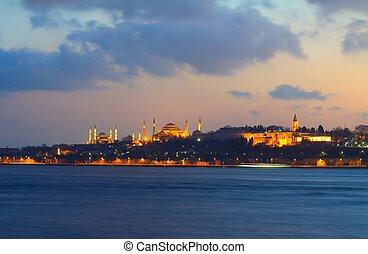 popolare, locali, in, istanbul