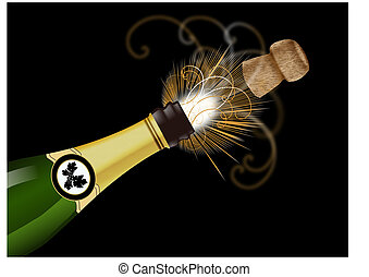 popping cork