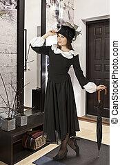 poppins, 女, 役割, 若い, mary, 屋内