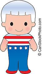 Poppy American Boy