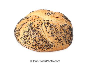 Poppy seed bun