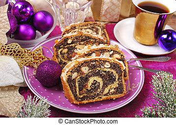 poppy seed cake for christmas