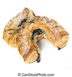 Poppy Seed Patries Over White