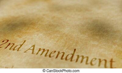 poprawka, historyczny, dokument, 2