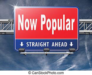 popular, ahora