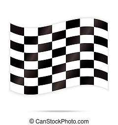 popular checker chess square abstract racing background vector
