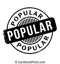 Popular rubber stamp