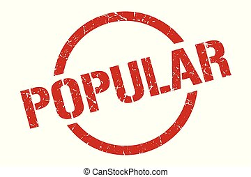 popular stamp - popular red round stamp