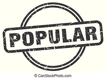popular vintage stamp. popular sign