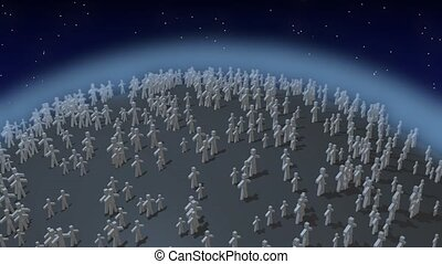 Population explosion - Rapid population growth on the planet
