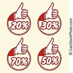 popust thumbs up