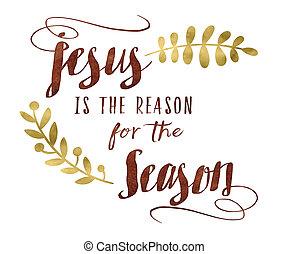 pora, powód, jezus